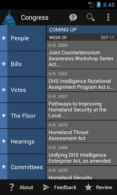 Congress screenshot 1