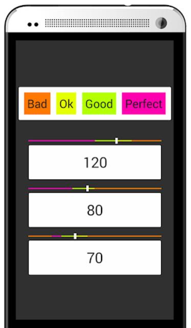 Blood Pressure Analyze screenshot 2