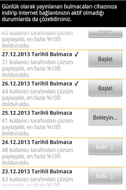Super Cengel Bulmaca screenshot 4