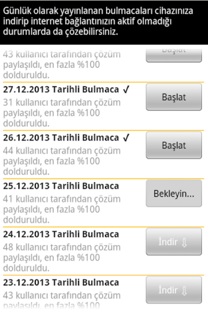 Super Cengel Bulmaca screenshot 13