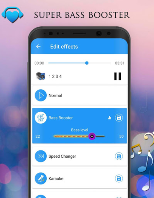 Voice Changer - Audio Effects screenshot 4