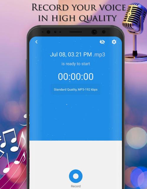 Voice Changer - Audio Effects screenshot 8