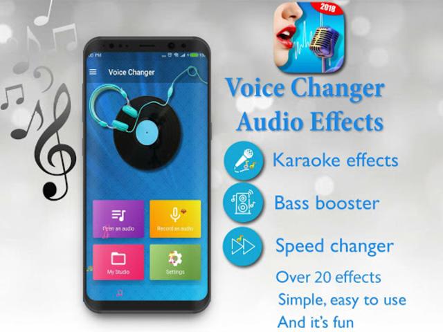 Voice Changer - Audio Effects screenshot 9