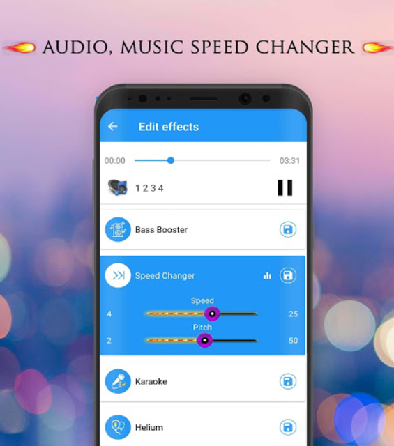 Voice Changer - Audio Effects screenshot 10