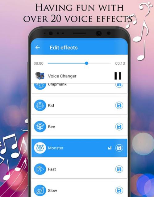 Voice Changer - Audio Effects screenshot 11