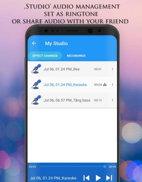 Voice Changer - Audio Effects screenshot 14