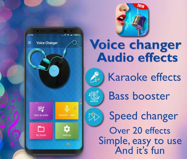 Voice Changer - Audio Effects screenshot 1