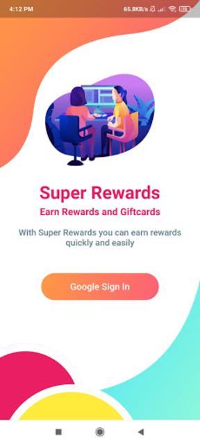 Super Rewards - Earn Rewards and Gift Cards screenshot 1