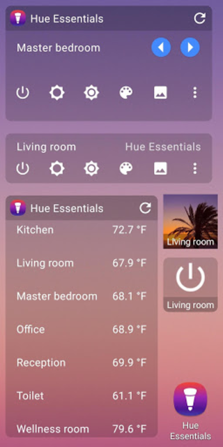 Hue Essentials - Philips Hue & IKEA TRÅDFRI screenshot 8