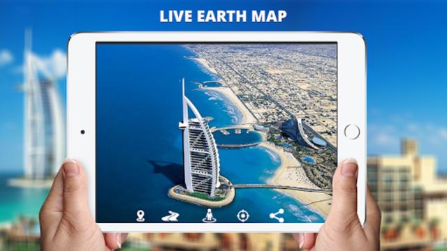Live Earth Map View: 360 Satellite & Street view screenshot 8