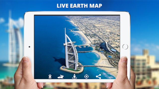 Live Earth Map View: 360 Satellite & Street view screenshot 15