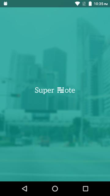 Super Note screenshot 1