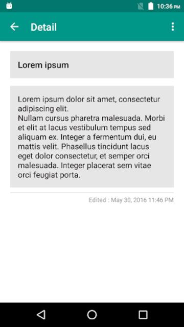 Super Note screenshot 4