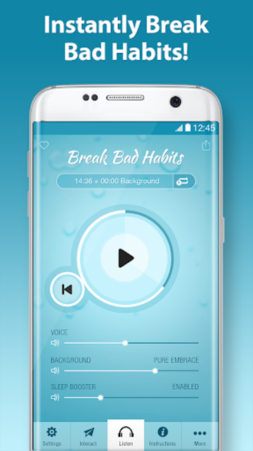 Break Bad Habits Pro - Increase Willpower screenshot 1
