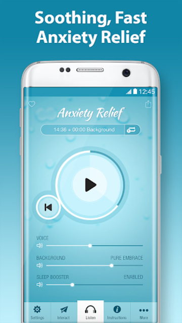 End Anxiety Hypnosis - Stress, Panic Attack Help screenshot 1