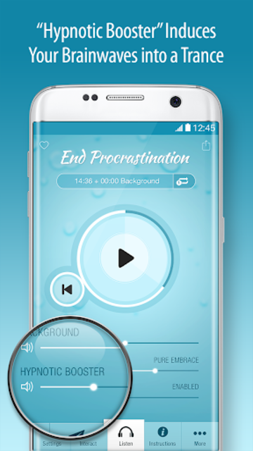 End Procrastination Hypnosis - Getting Things Done screenshot 3