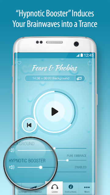 Fears & Phobias Hypnosis - Public Speaking & More screenshot 3