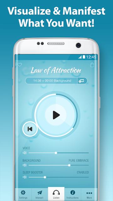 Law of Attraction Pro - Secret Vision Board screenshot 1