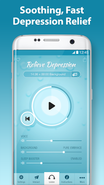 Relieve Depression Pro - Mood & Anxiety Help screenshot 1