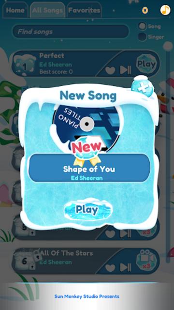 Ed Sheeran - Perfect Piano Tiles  2019 screenshot 5