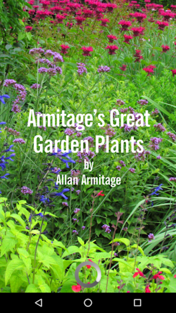 Armitage's Great Garden Plants screenshot 1
