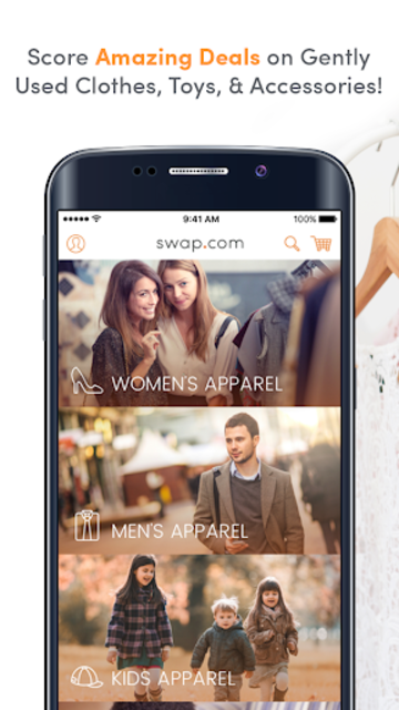 Swap.com Thrift Store: Clearance on Used Apparel screenshot 1