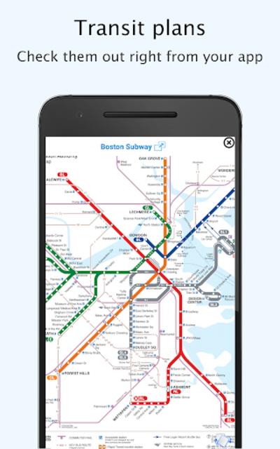 Boston Transit - MTBA Offline departures screenshot 2