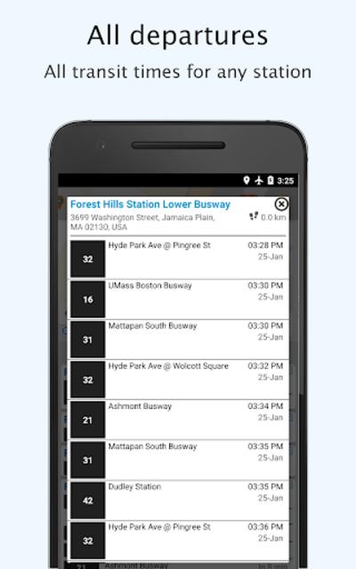 Boston Transit - MTBA Offline departures screenshot 6