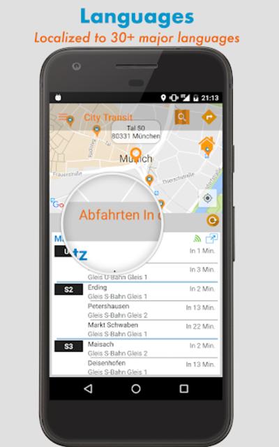 City Transit: Real-time departures, Routes, Tariff screenshot 16