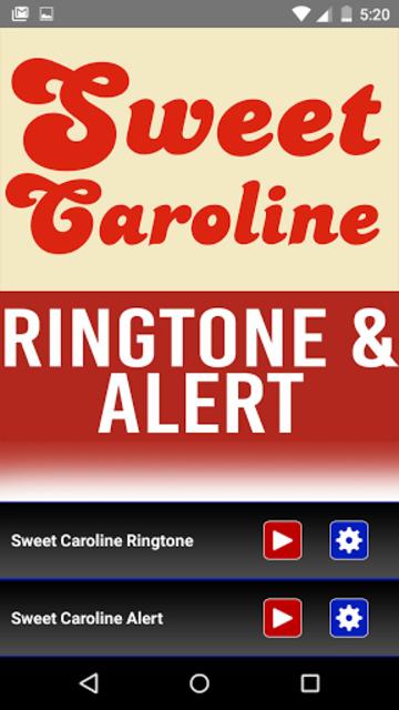 Sweet Caroline Ringtone & Alrt screenshot 1