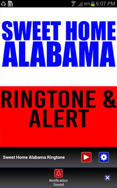 Sweet Home Alabama Ringtone screenshot 3