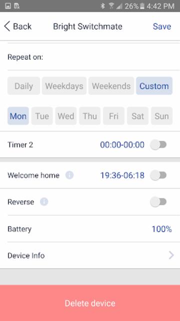 Switchmate screenshot 6