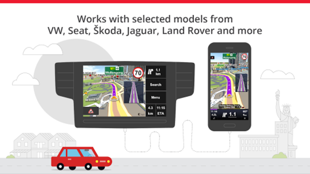 Sygic Car Navigation screenshot 2