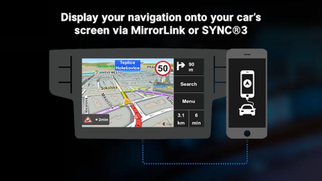 Sygic Car Connected Navigation screenshot 2