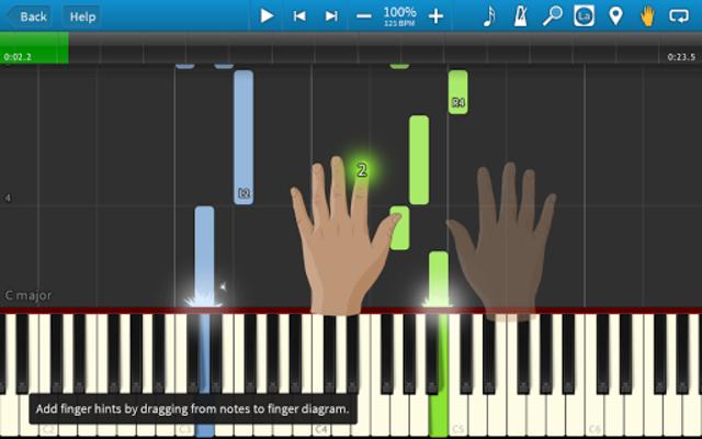 Synthesia screenshot 2