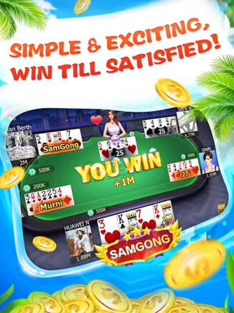 About Samgong Sakong Free Samgong Game For Indonesia Google Play Version Samgong Sakong Free Google Play Apptopia