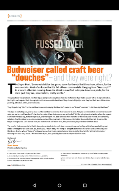 Beer Magazine screenshot 5