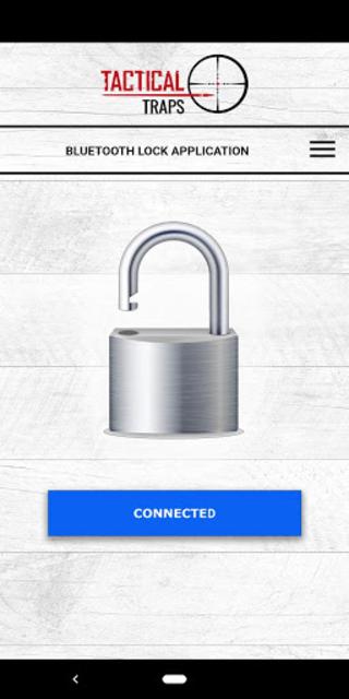 Tactical Traps Bluetooth Lock screenshot 2