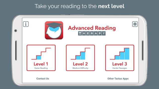 Advanced Reading Therapy screenshot 1
