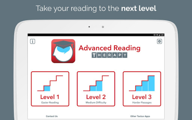 Advanced Reading Therapy screenshot 6