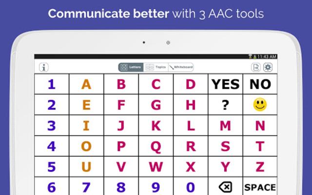 AlphaTopics - AAC screenshot 11