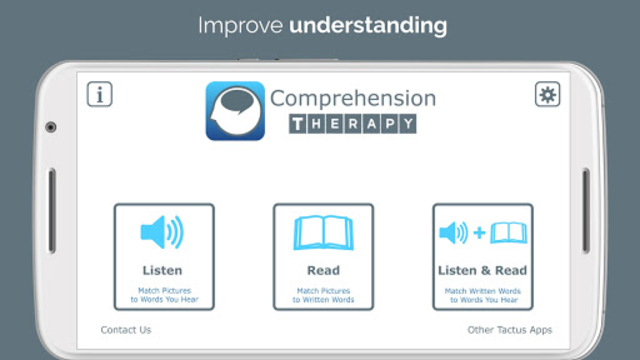 Comprehension Therapy screenshot 1
