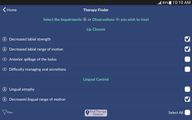 Dysphagia Therapy screenshot 7