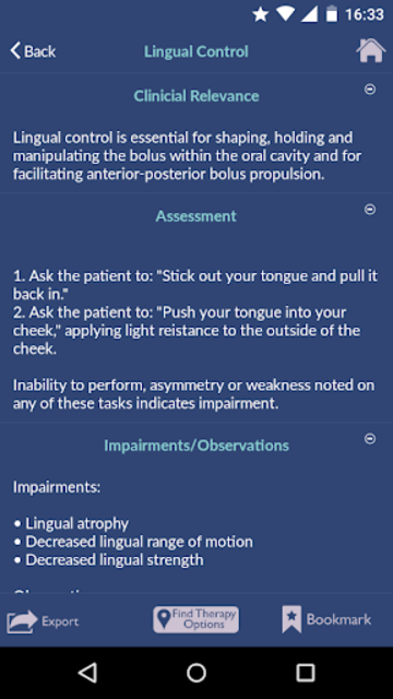 Dysphagia Therapy screenshot 4
