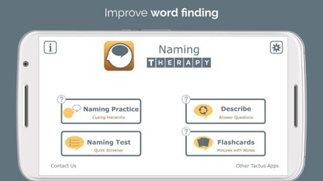 Naming Therapy screenshot 1