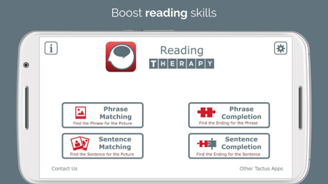 Reading Therapy screenshot 1