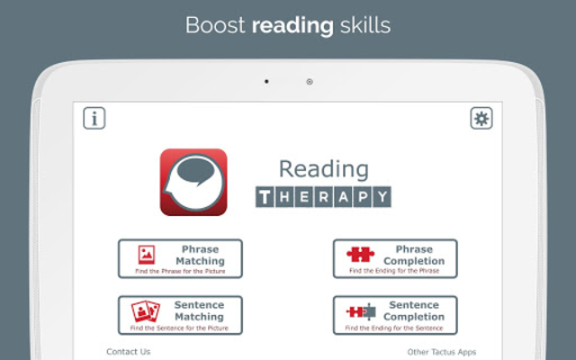 Reading Therapy screenshot 6