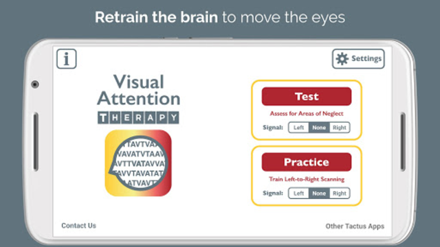 Visual Attention Therapy screenshot 1