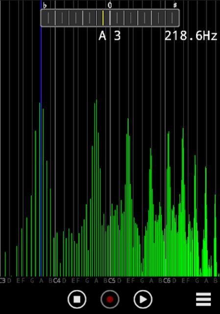 Audio Spectrum Monitor (No Ad) screenshot 1