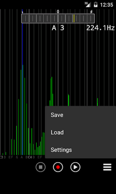 Audio Spectrum Monitor (No Ad) screenshot 3